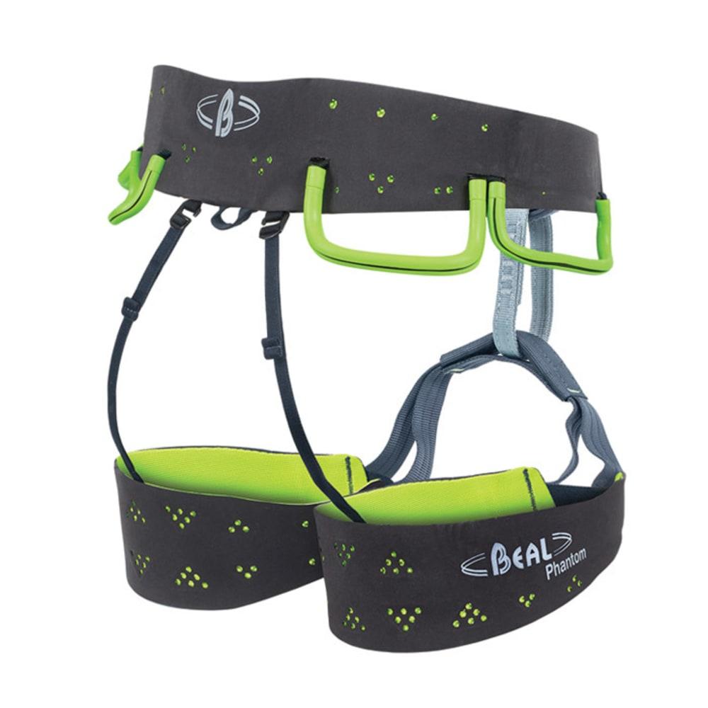 BEAL Phantom Climbing Harness - GREY/LIME