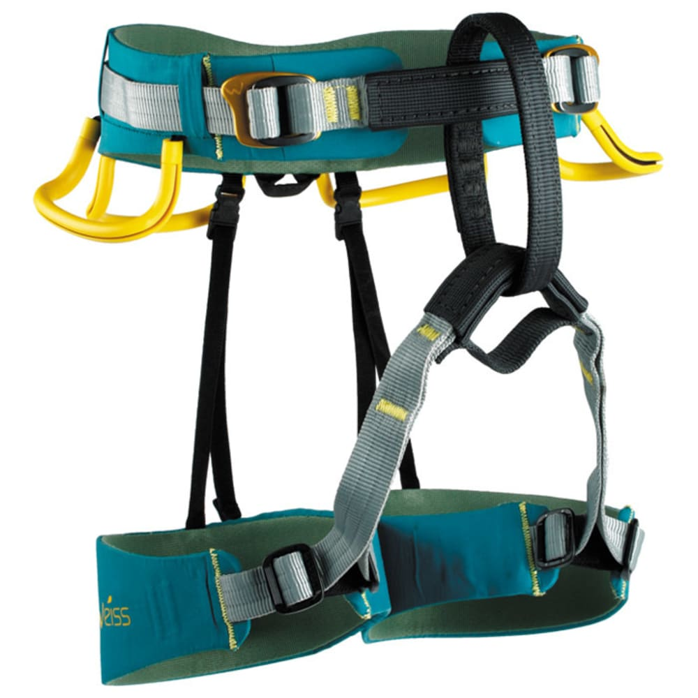 EDELWEISS Scorpion Harness - BLUE/GREEN