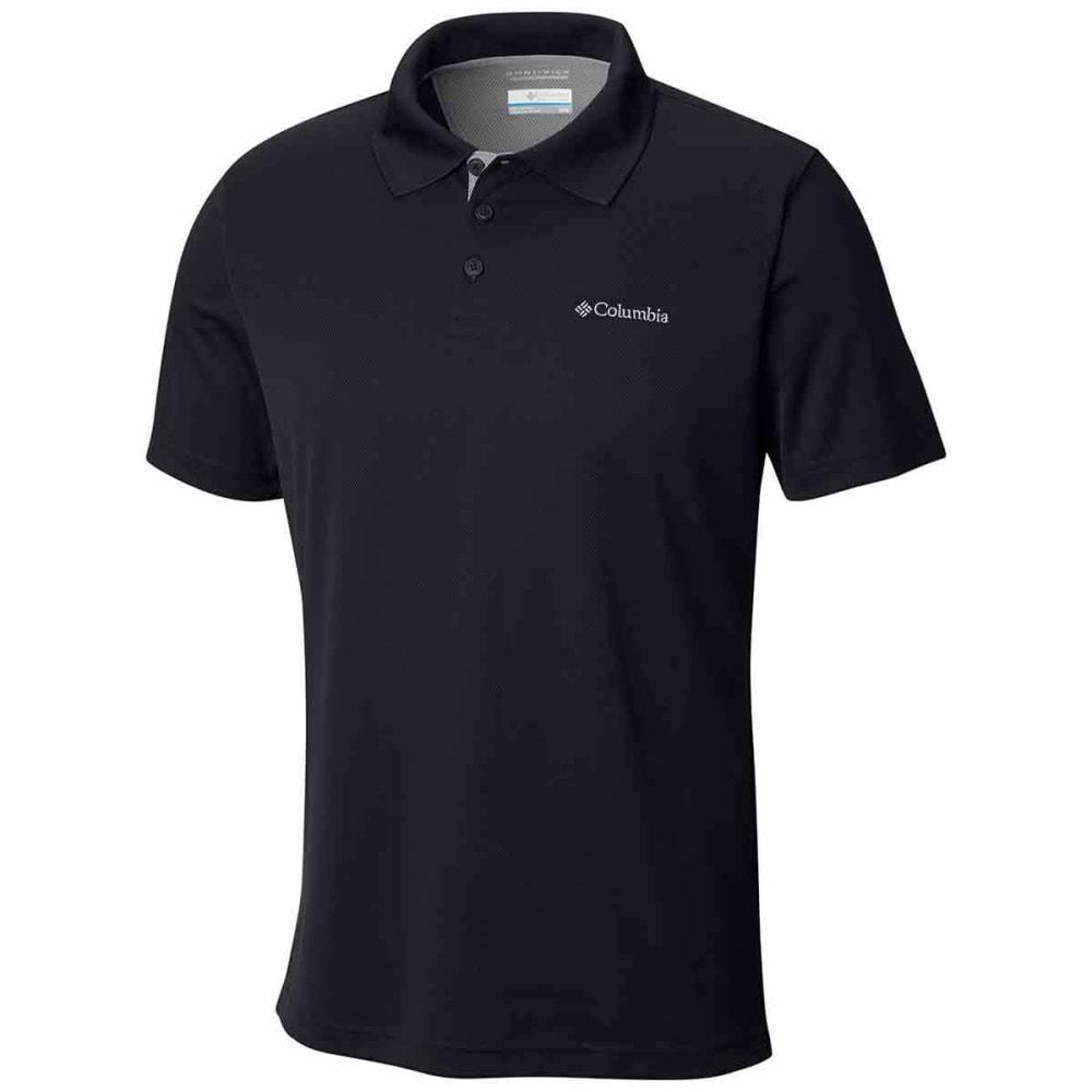 COLUMBIA Men's Utilizer Polo Shirt - BLACK-010