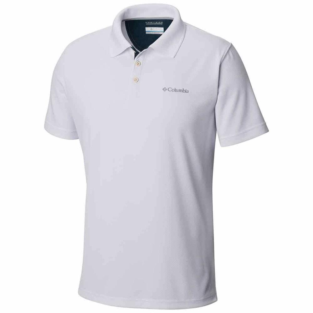 COLUMBIA Men's Utilizer Polo Shirt - WHITE-100