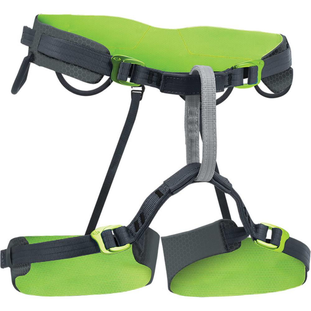 BEAL Shadow Soft Climbing Harness - GREY/LIME