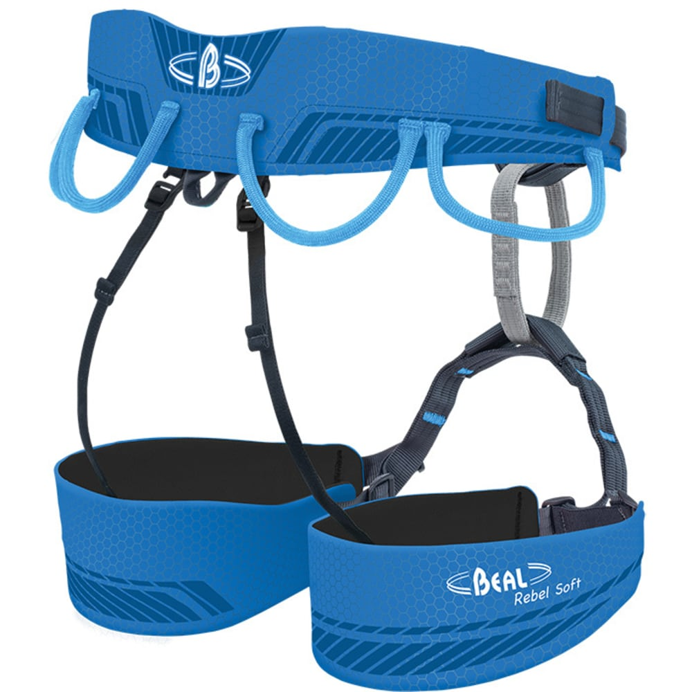 BEAL Rebel Soft Climbing Harness - BLUE