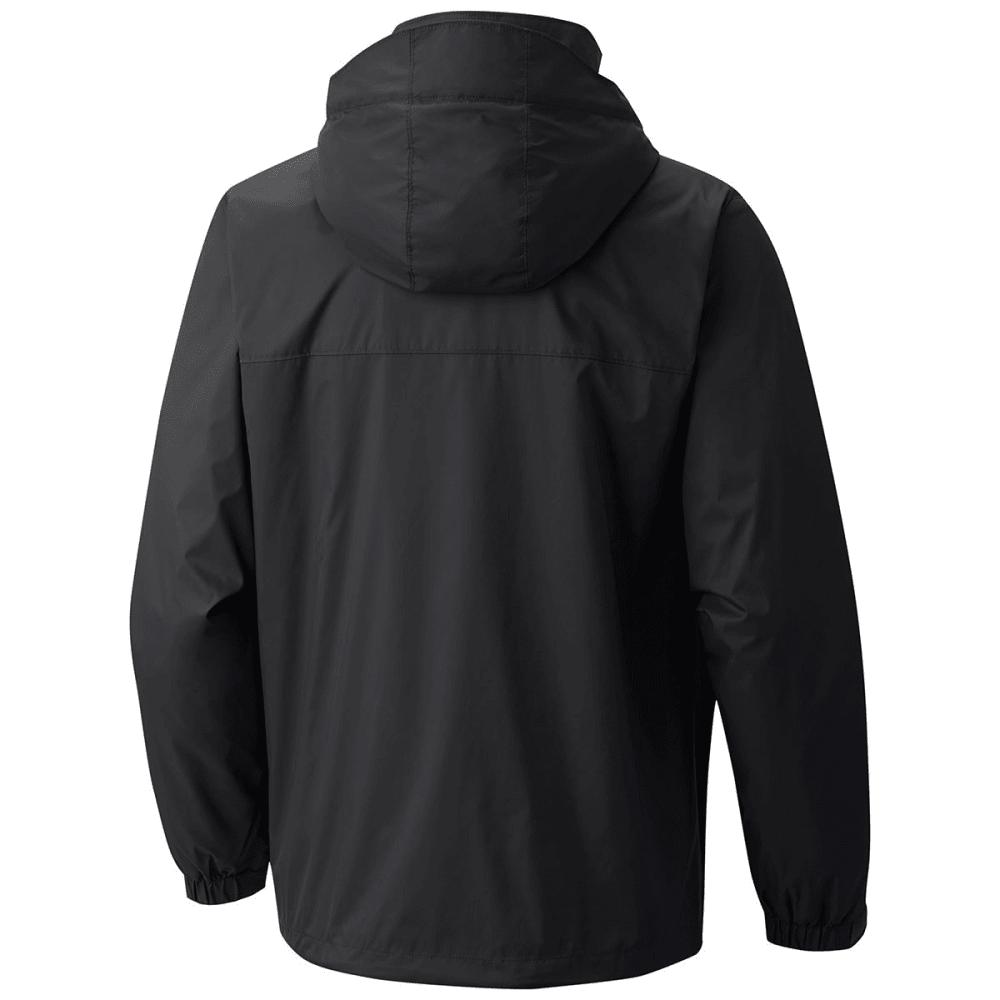 COLUMBIA Men's Glennaker Lake Lined Rain Jacket - BLACK-010