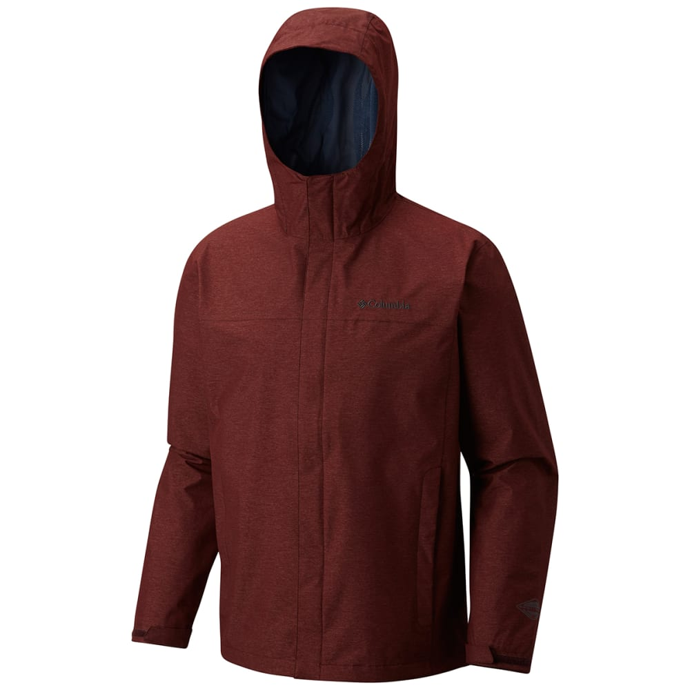 COLUMBIA Men's Diablo Creek Rain Shell - ELDERBERRY-521