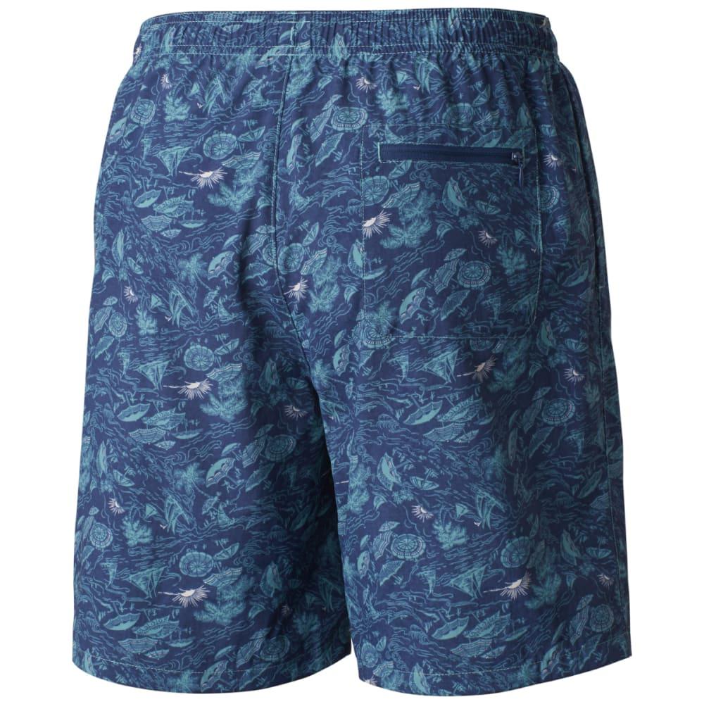 COLUMBIA Men's Big Dippers Water Shorts - TEAL UMBRELLA-962