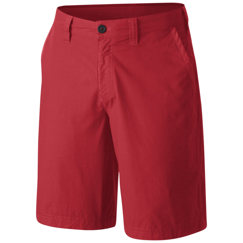COLUMBIA Men's Washed Out Shorts - RED SPARK-696