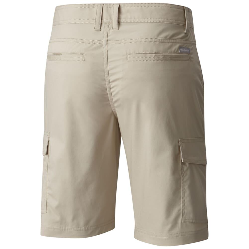 COLUMBIA Men's Boulder Ridge Cargo Shorts - FOSSIL-160