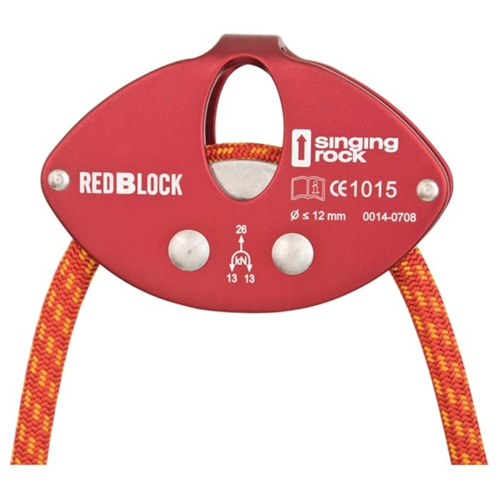 SINGING ROCK Red Block Reduction Device, Red - RED
