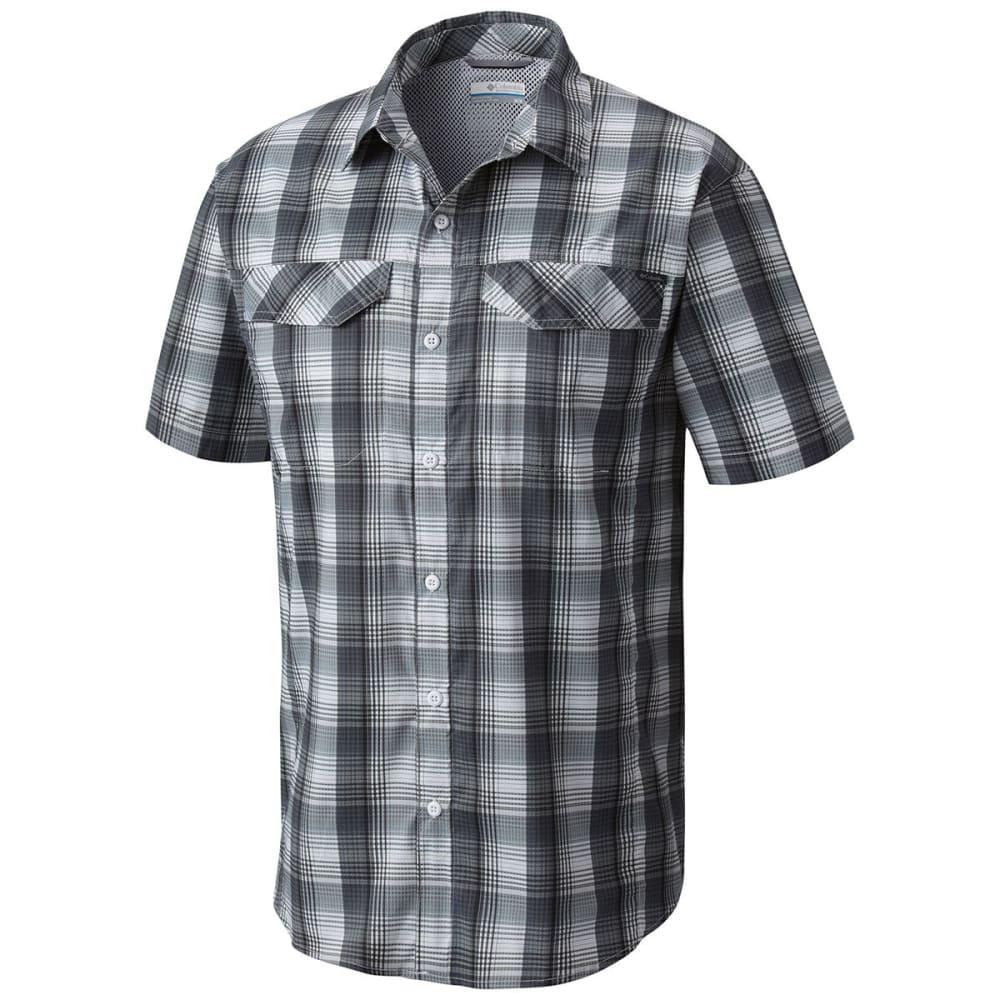 COLUMBIA Men's Silver Ridge Lite Plaid Short-Sleeve Shirt S