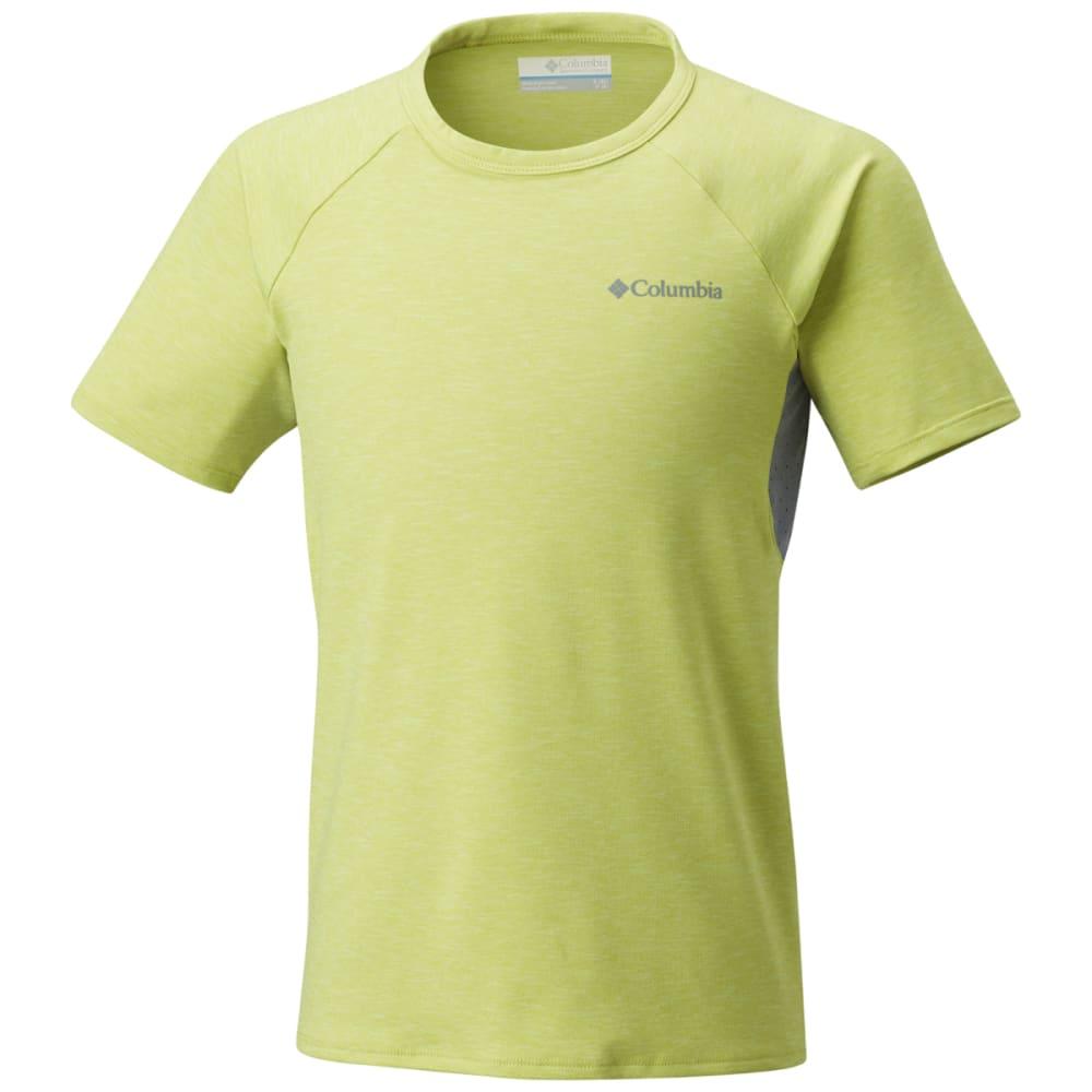 COLUMBIA Big Boys' Silver Ridge II Short-Sleeve Tee XS
