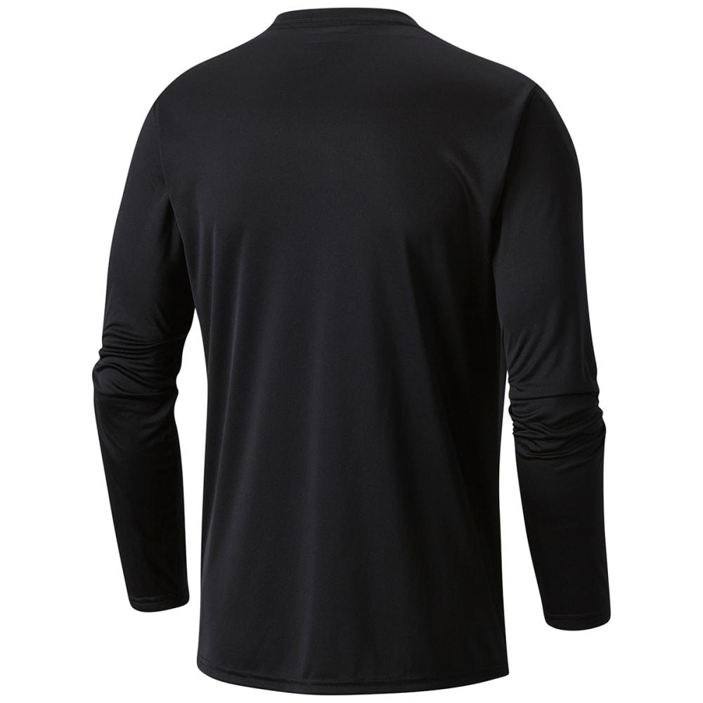 COLUMBIA Men's Terminal Tackle PFG Long-Sleeve Shirt - 011-BLACK