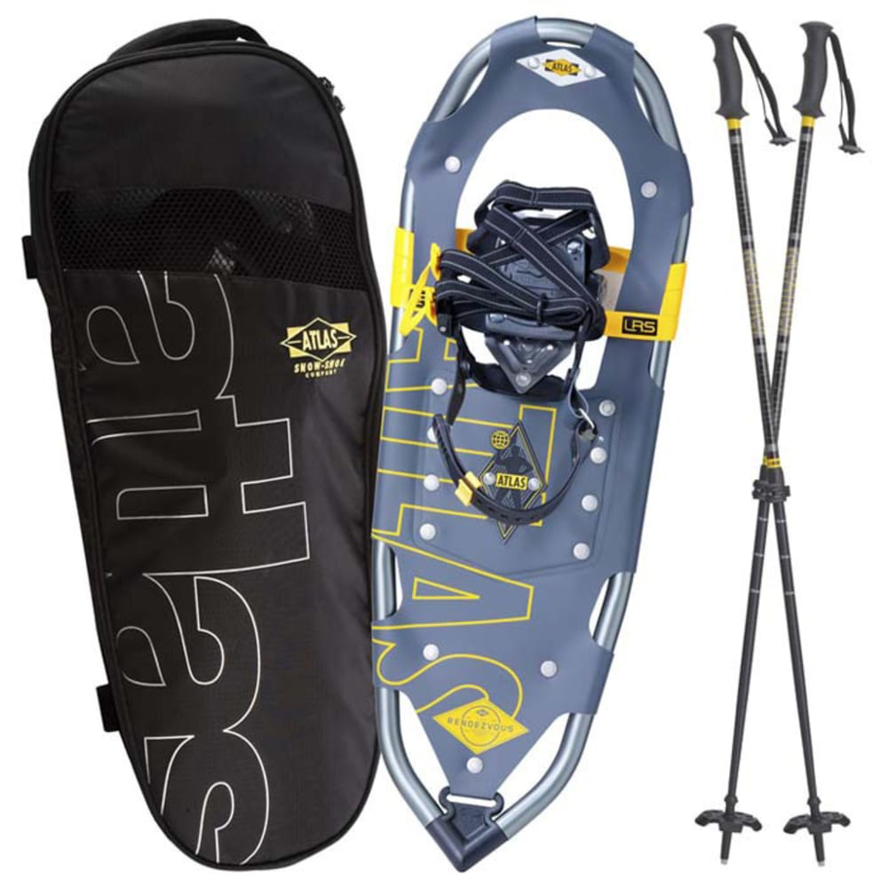 ATLAS Rendevous 30 Kit Snowshoes Kit, Grey - GREY
