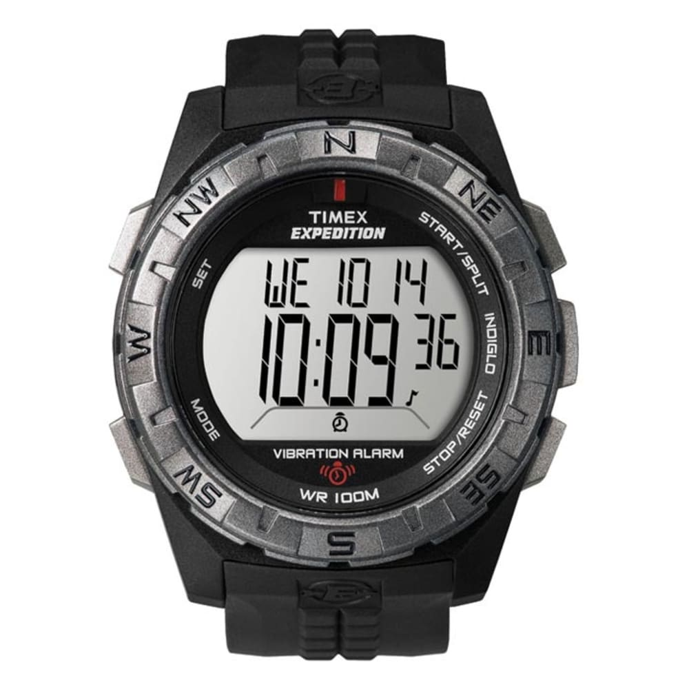 TIMEX Rugged Vibrating Alarm Watch - NO COLOR