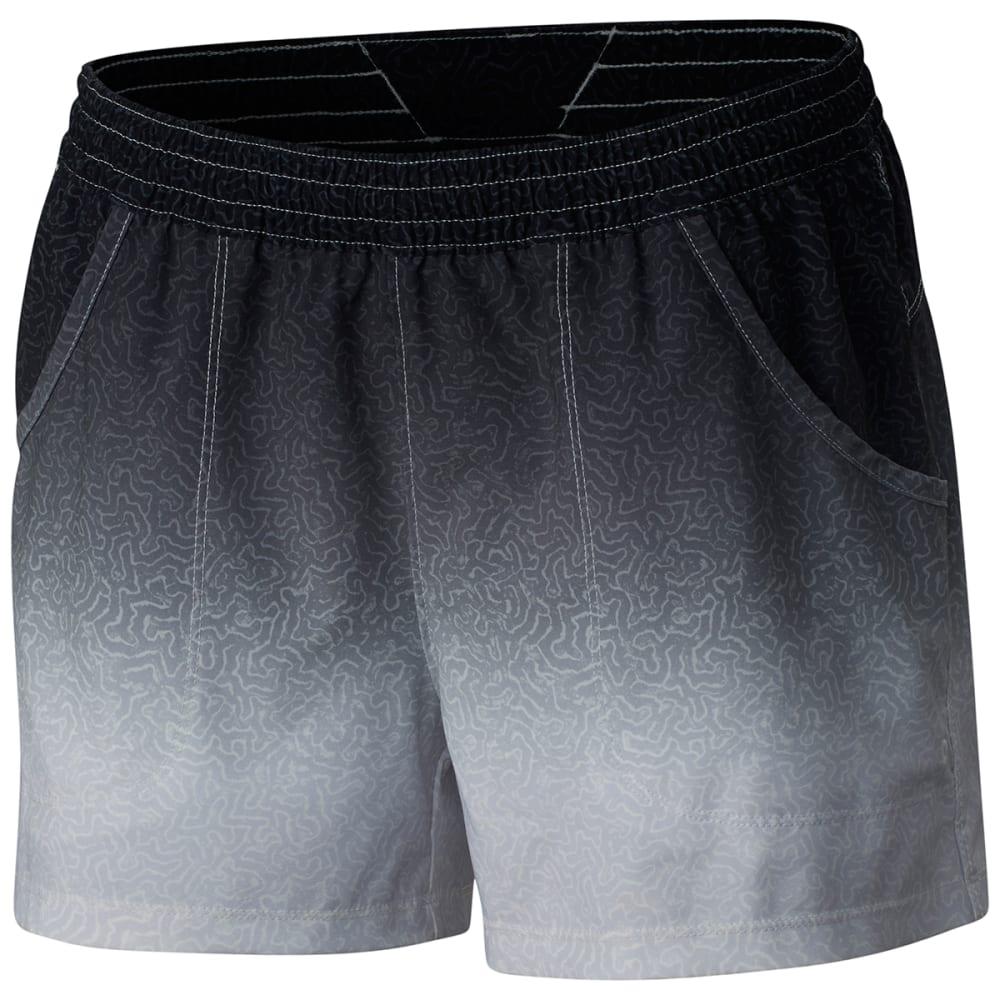 COLUMBIA Women's PFG Tidal Shorts - 901-BLK TARPON FADE