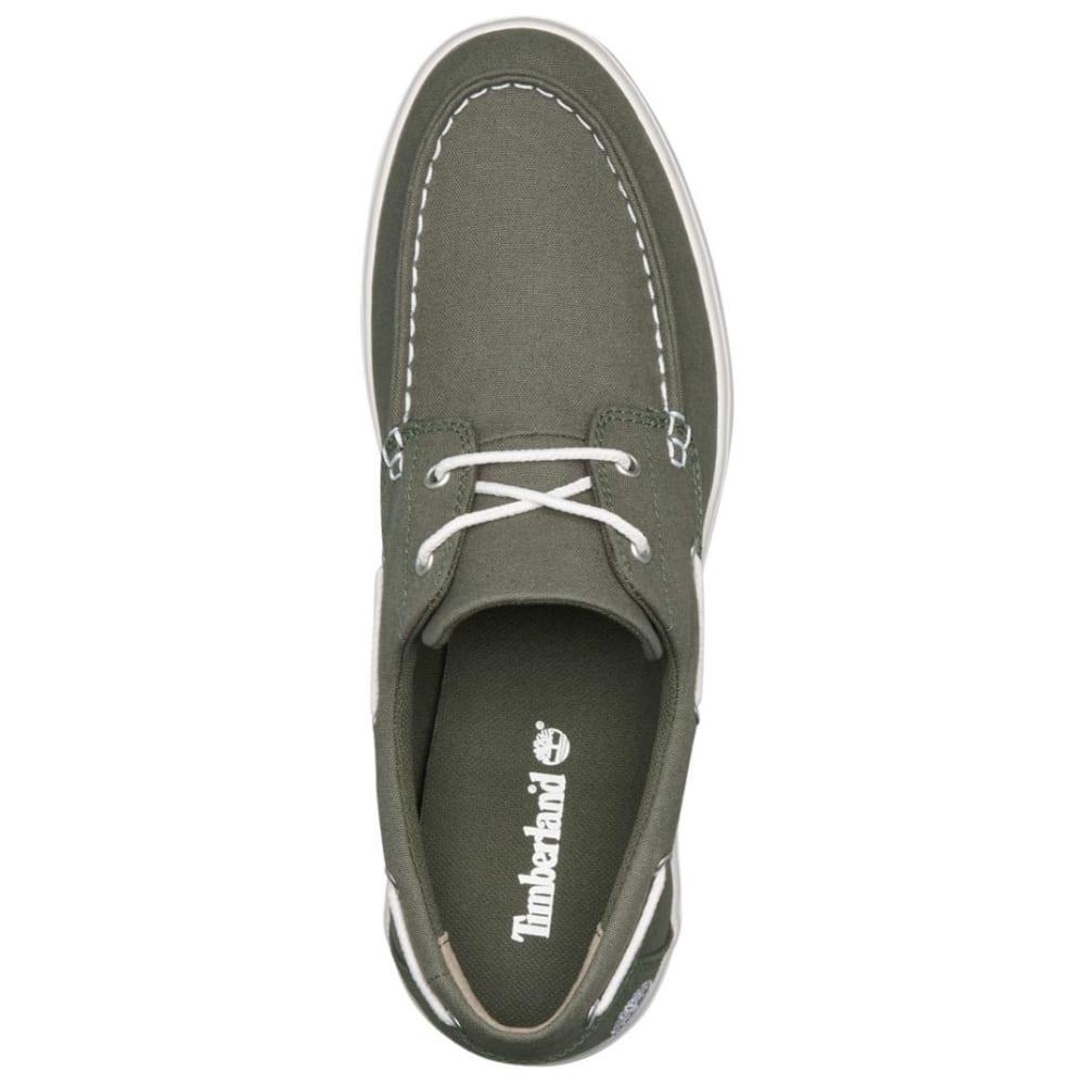 TIMBERLAND Men's Union Wharf 2-Eye Boat Shoes - DARK GREEN