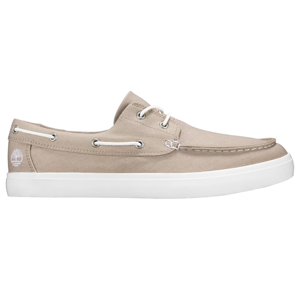 TIMBERLAND Men's Union Wharf 2-Eye Boat Shoes - LIGHT TAUPE