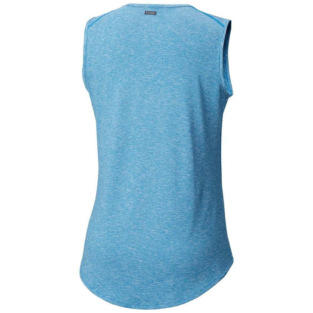 COLUMBIA Women's Wander More™ Tank Top - 455-DK CYAN HTR