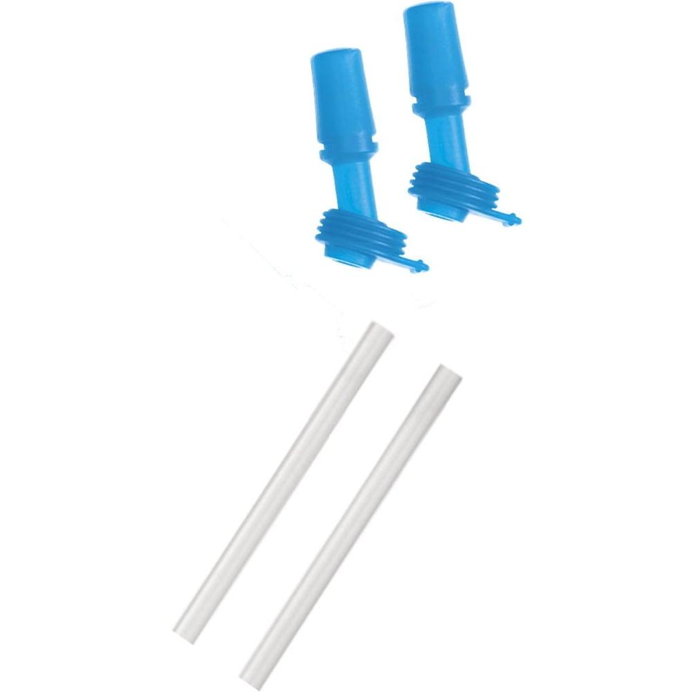 CAMELBAK Kids' Eddy Bottle Bite Valves and Straws - ICE BLUE
