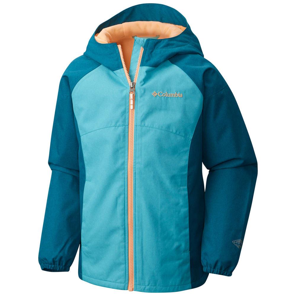 COLUMBIA Big Girls' Endless Explorer Jacket - 732-GEYSER W BLUE