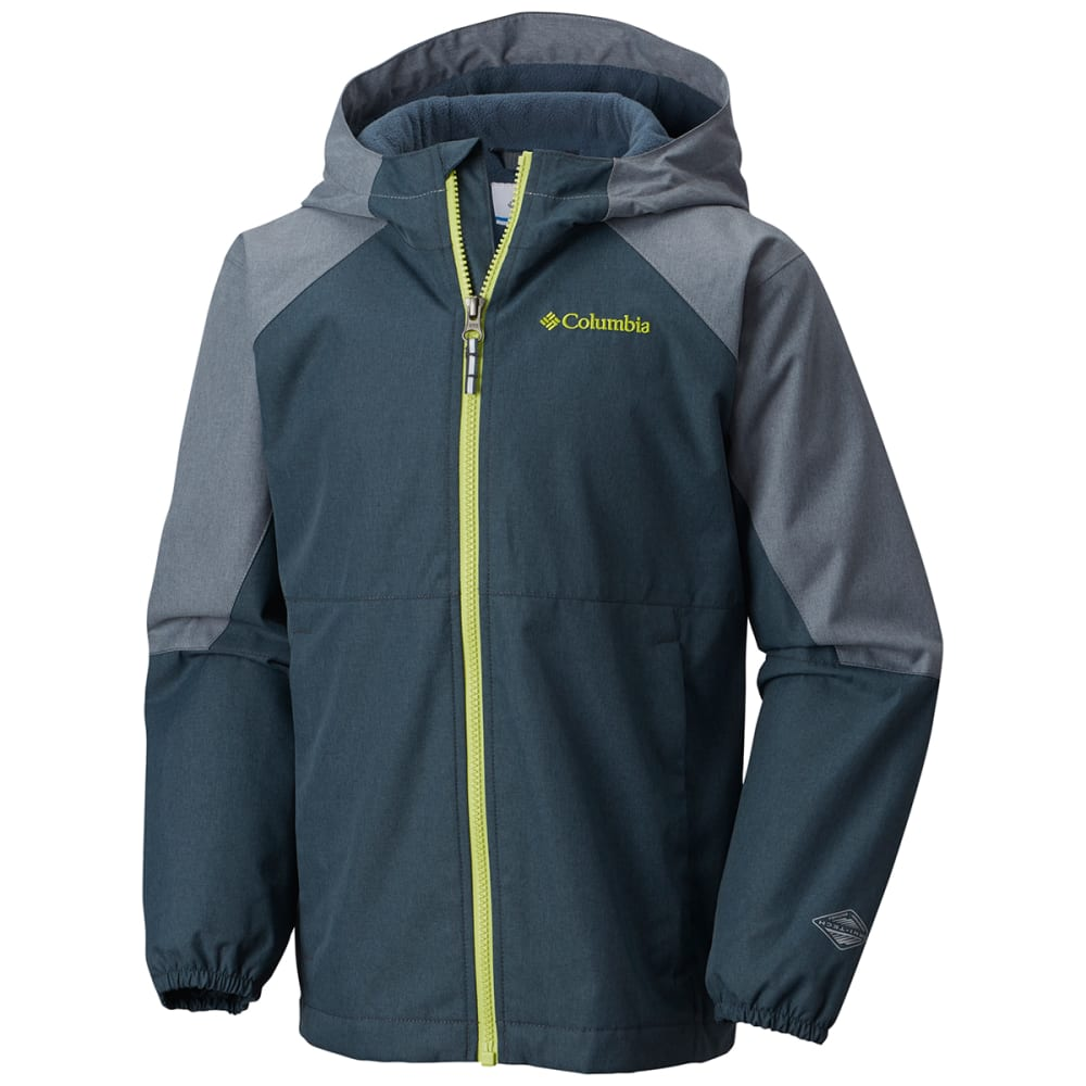 COLUMBIA Big Boys' Endless Explorer Jacket - 435-MYSTERY GREY ASH