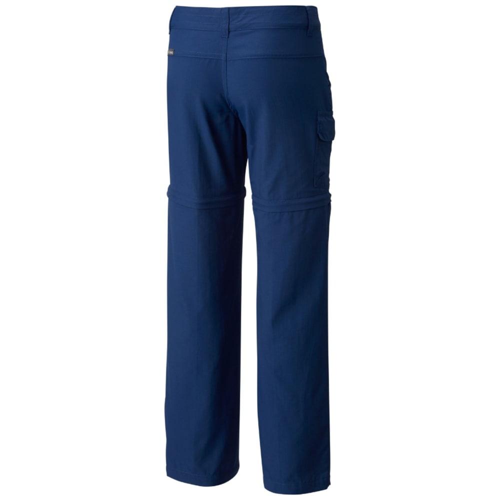 COLUMBIA Big Girls' Silver Ridge III Convertible Pants - 469-CARBON