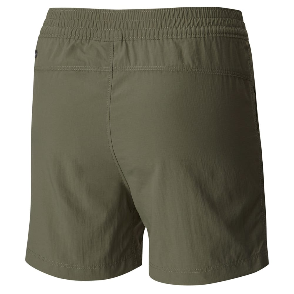 COLUMBIA Big Girls' Silver Ridge Pull-On Shorts - 316-CYPRESS