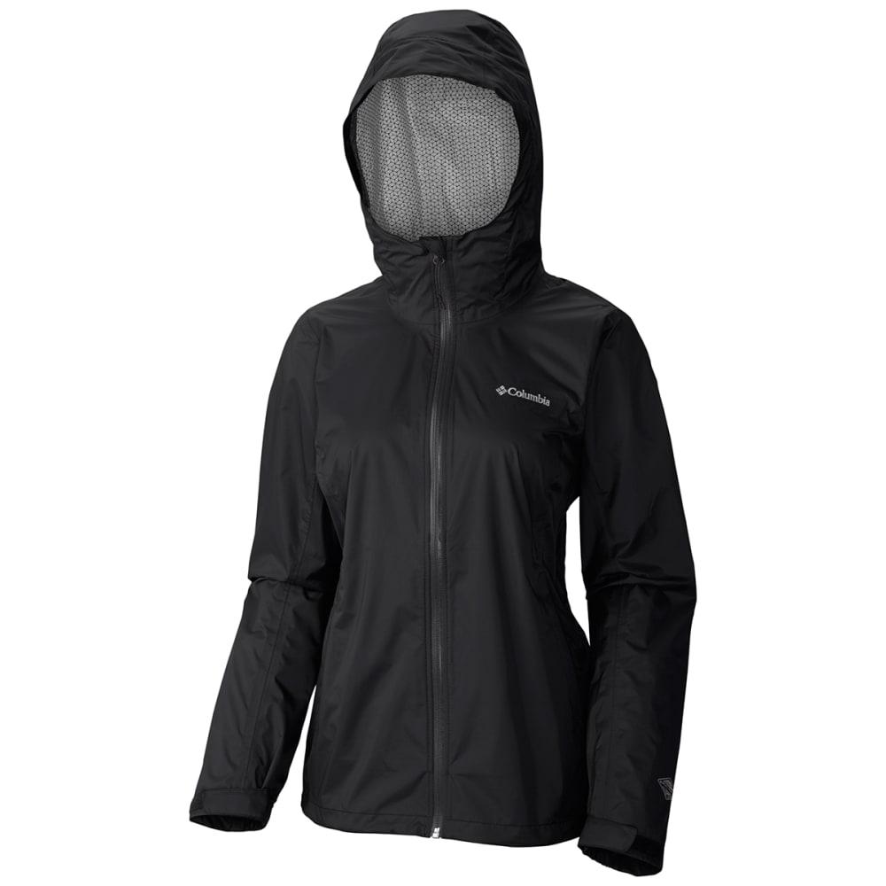 COLUMBIA Women's EvaPOURation Jacket - 010-BLACK