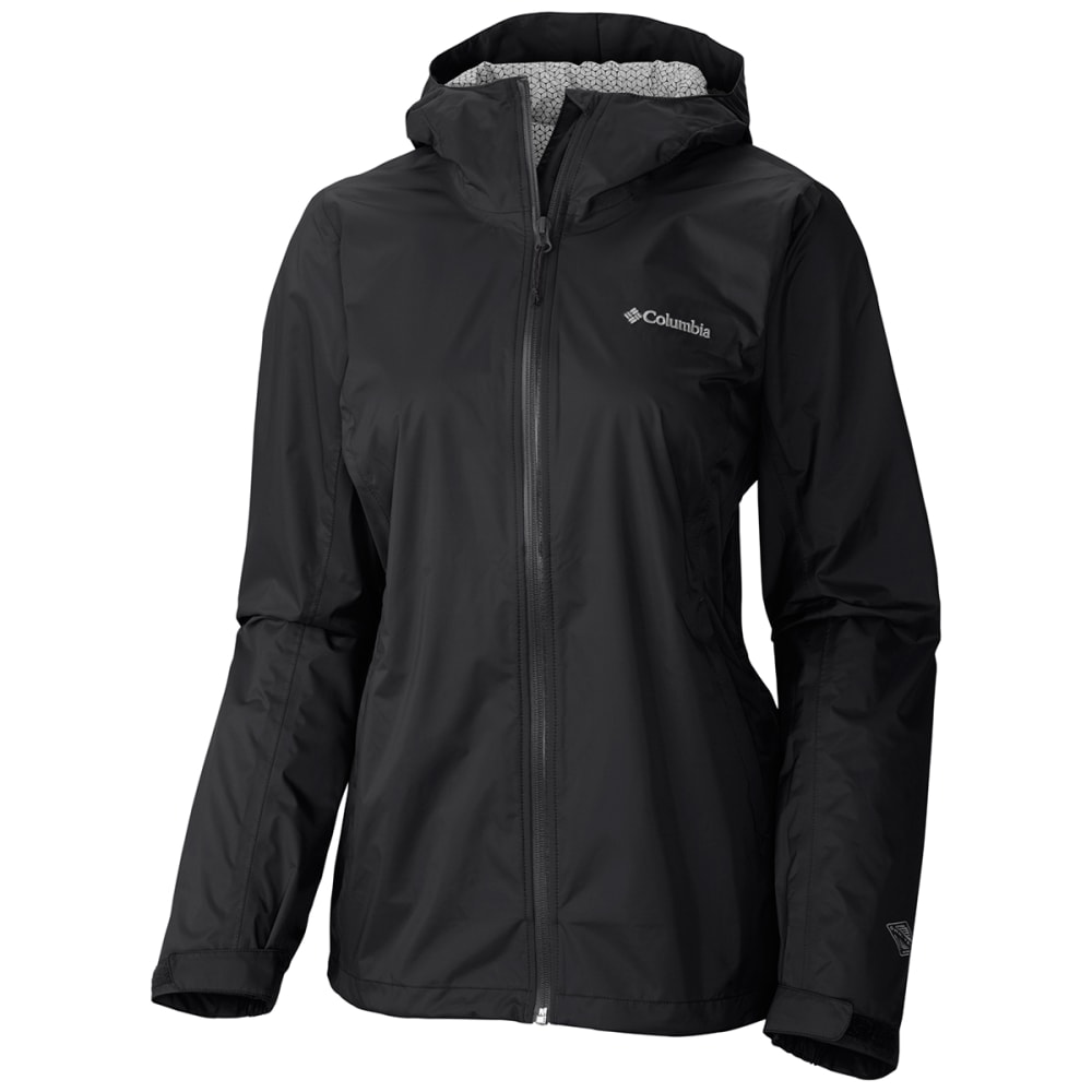 COLUMBIA Women's EvaPOURation™ Jacket - 010-BLACK