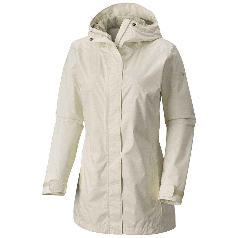COLUMBIA Women's Splash A Little II Jacket - 125- T SEA SALT GEO