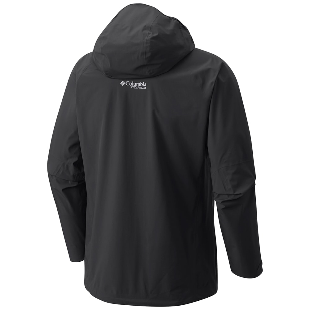 COLUMBIA Men's Trail Magic Shell Jacket - 010-BLACK