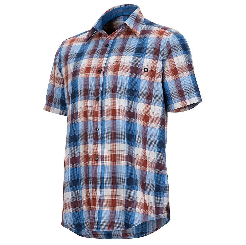 MARMOT Men's Notus Short-Sleeve Shirt - 3488-VARSITY BLUE