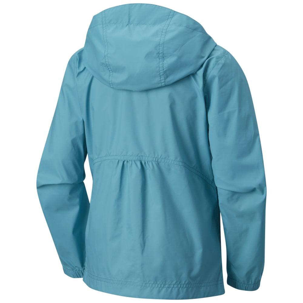 COLUMBIA Girls' Switchback Rain Jacket - 732-GEYSER