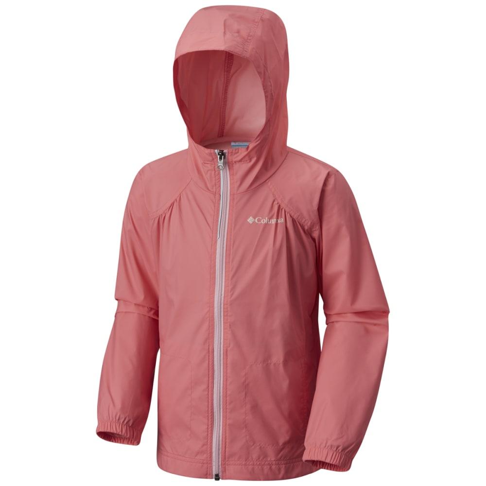 COLUMBIA Girls' Switchback Rain Jacket - 674-LOLLIPOP