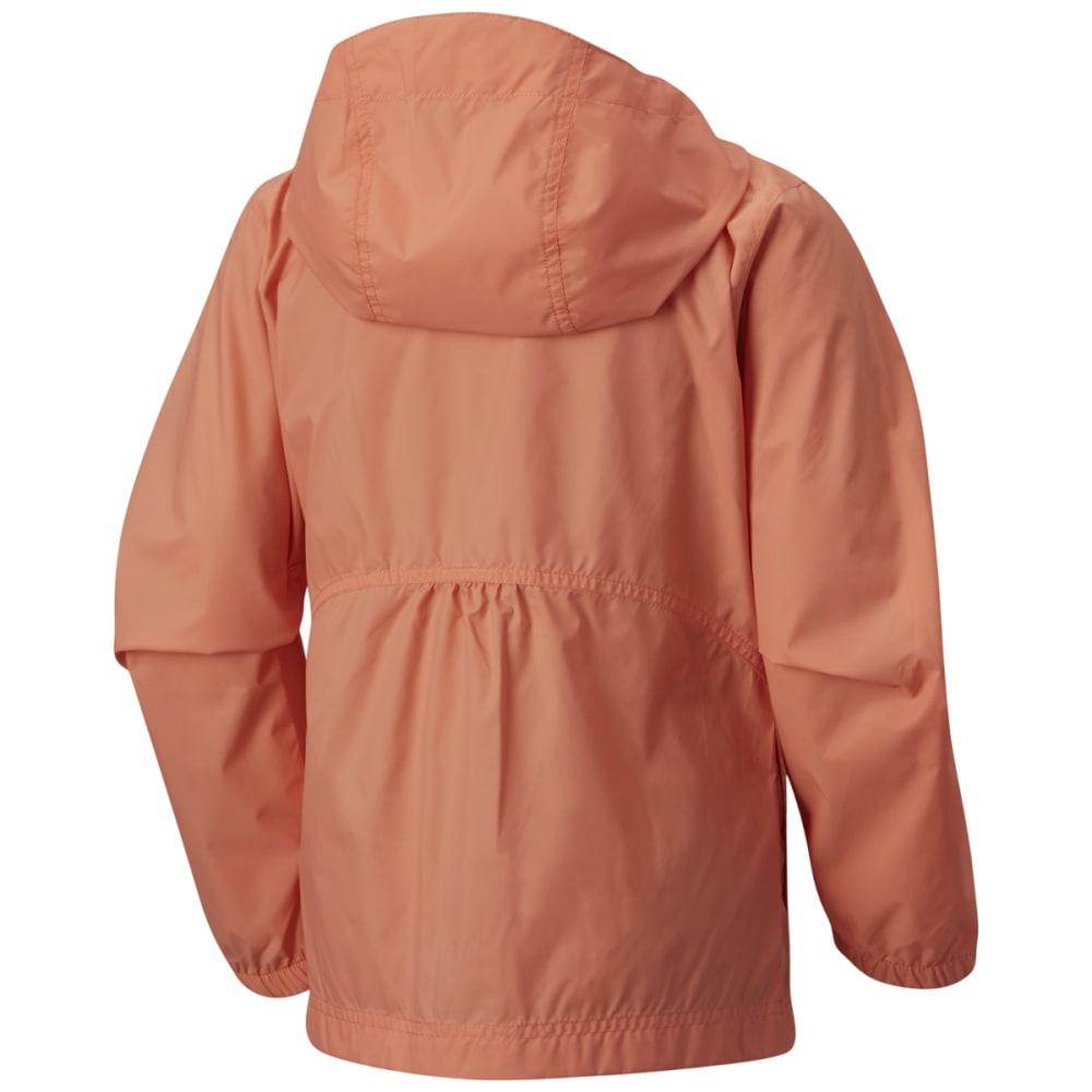 COLUMBIA Girls' Switchback Rain Jacket - 801-BRIGHT PEACH