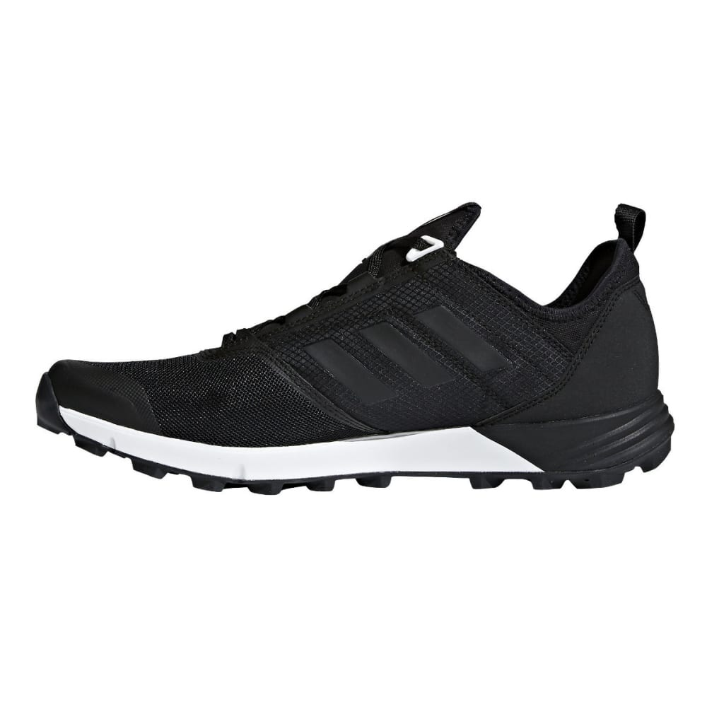 ADIDAS Men's Terrex Agravic Speed Trail Running Shoes - BLACK/BLACK/BLACK