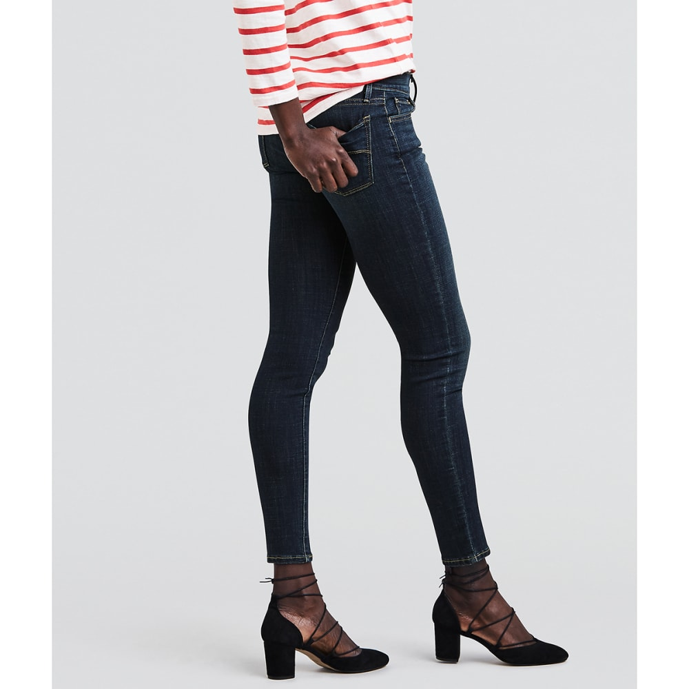 LEVI'S Women's 710 Super Skinny Jeans, 30 in. Inseam - 0110-EVOLUT-DISCS19