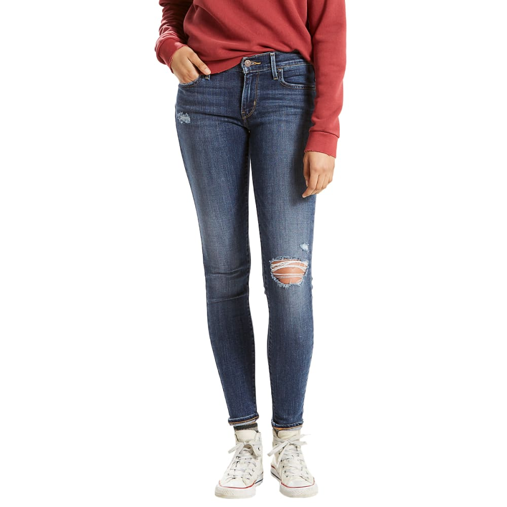 LEVI'S Women's 710 Super Skinny Jeans, 30 in. Inseam - 0174-JUST SA-DISCS19