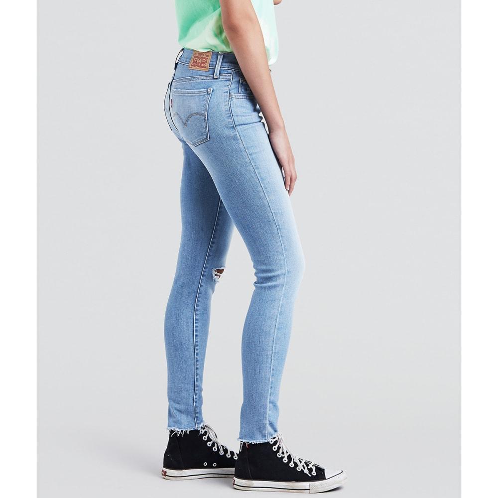 LEVI'S Women's 710 Super Skinny Jeans, 30 in. Inseam - 0225-INDI FL-DISCS19