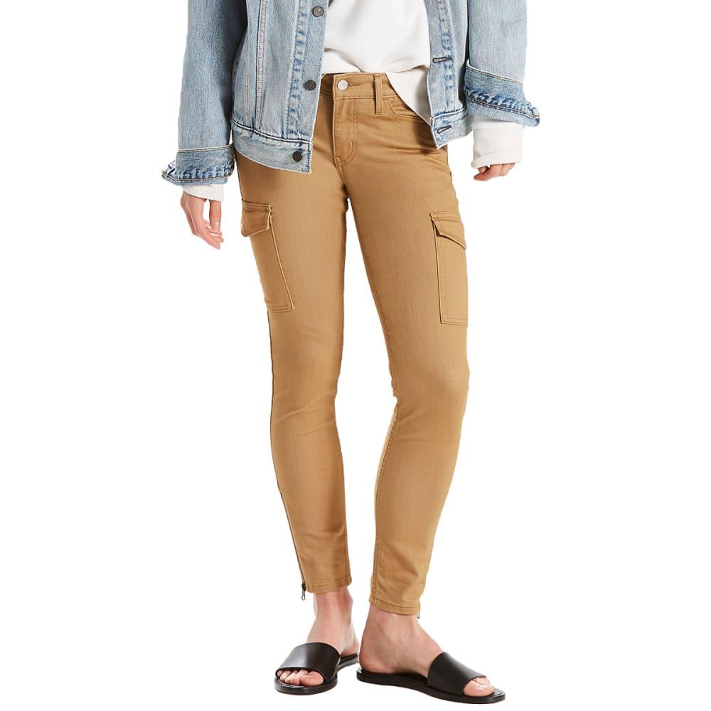 LEVI'S Women's 711 Utility Skinny Ankle Jeans - 0001-REFINED DIJON