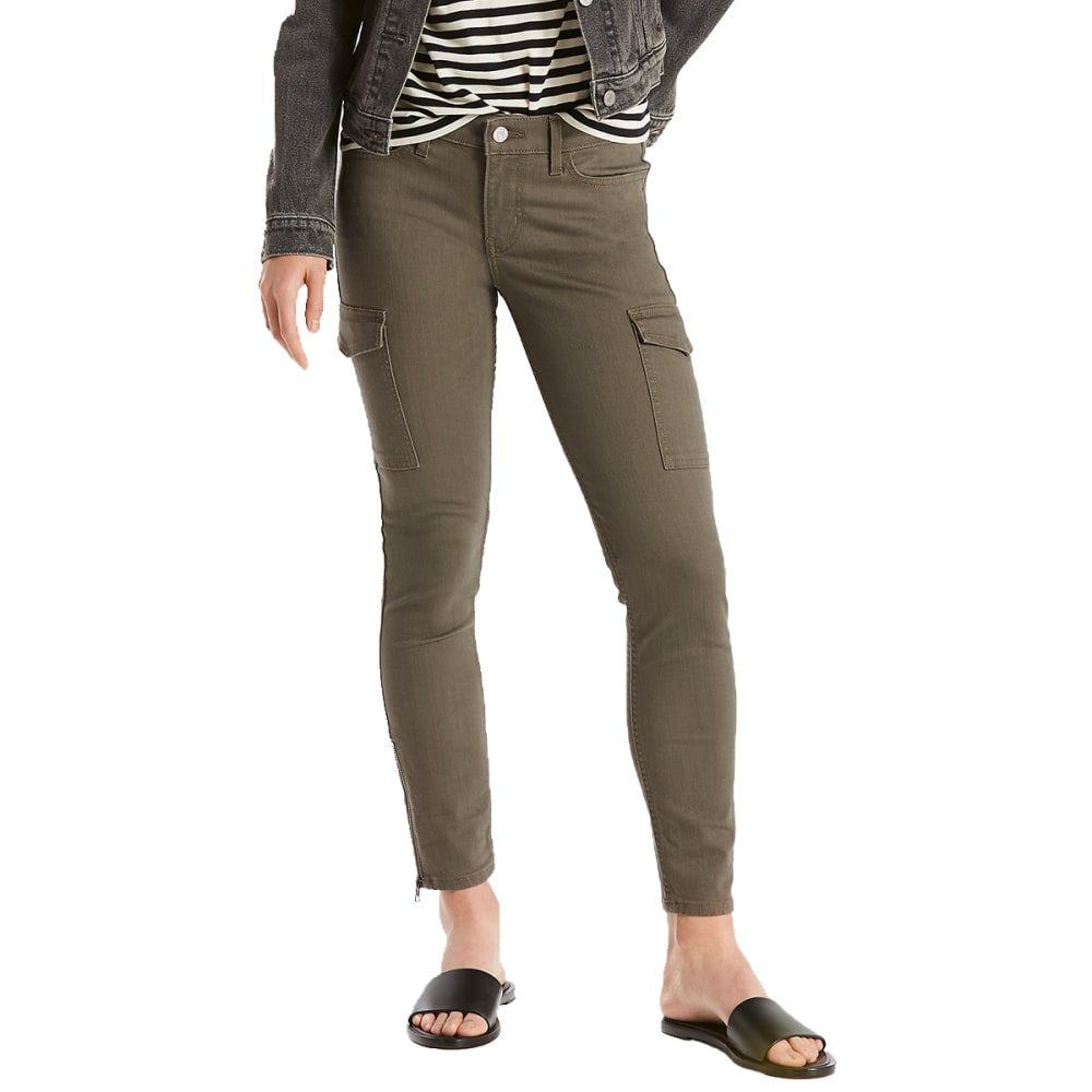 LEVI'S Women's 711 Utility Skinny Ankle Jeans - 0000-REFINED KALAMAT
