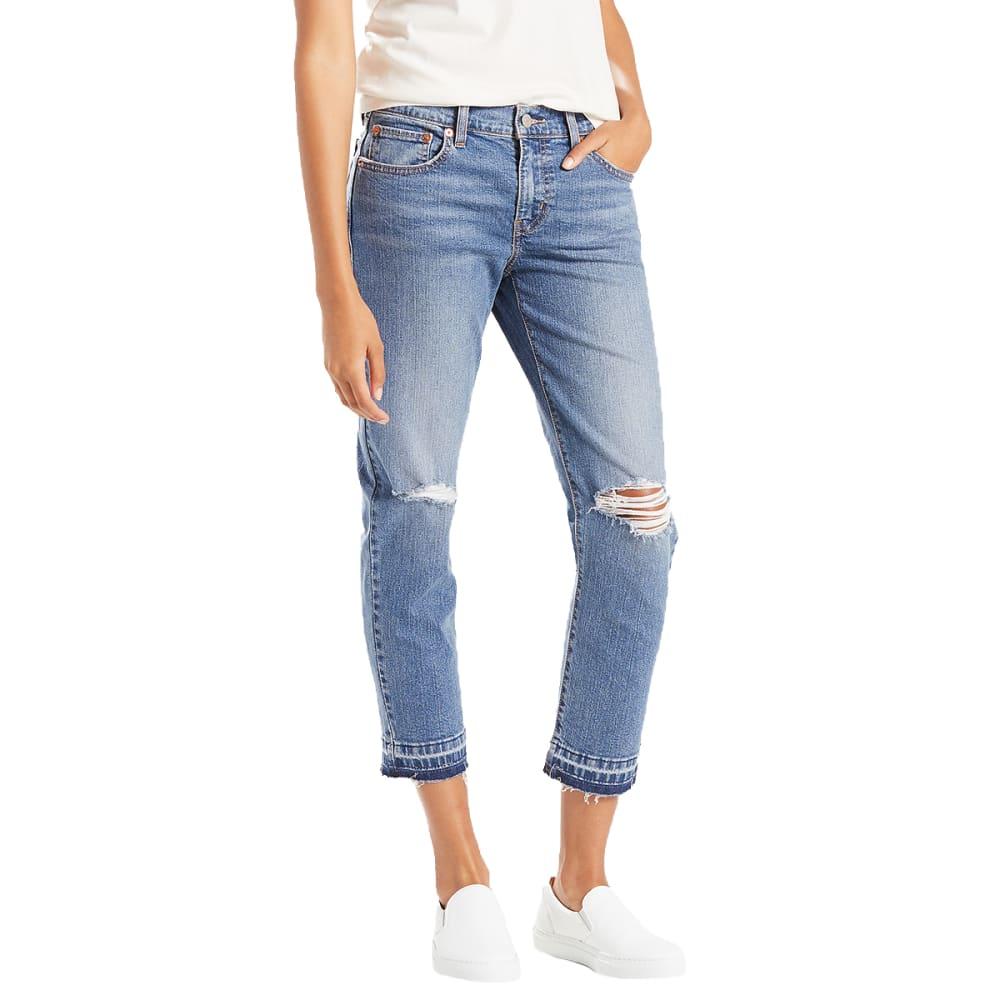 Levi S Women S Boyfriend Unrolled Jeans Eastern Mountain