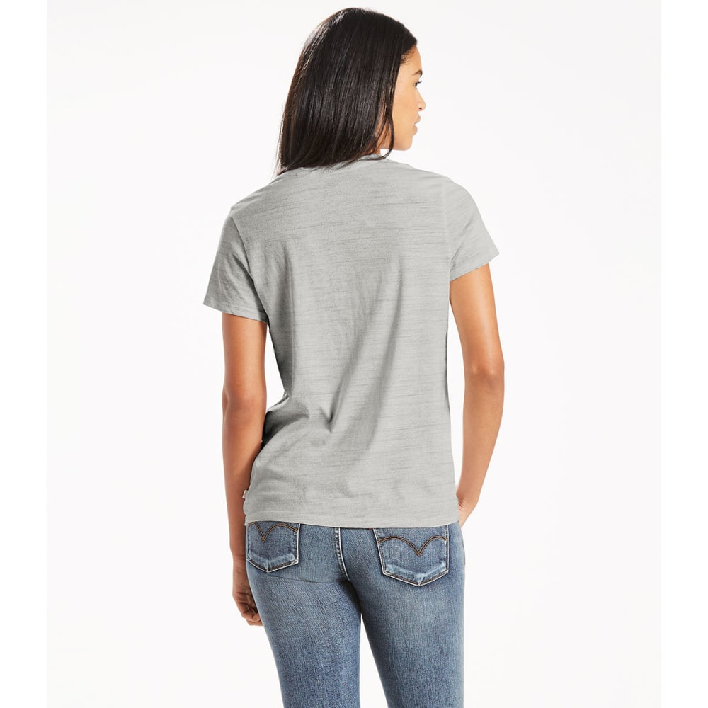 LEVI'S Women's Perfect Graphic Tee - 0064- SPORTSWEAR LOG