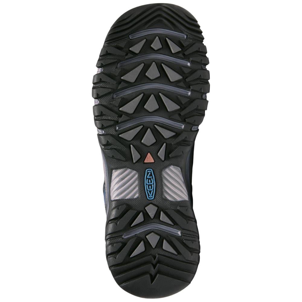 KEEN Men's Targhee III Waterproof Low Hiking Shoes - STEEL GREY