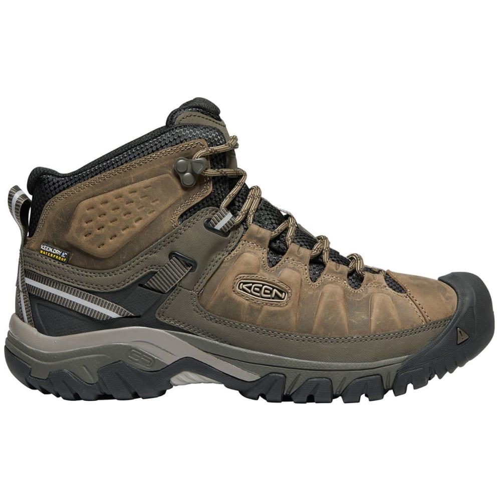 KEEN Men's Targhee III Waterproof Mid Hiking Boots - BUNGEE CORD/BLACK