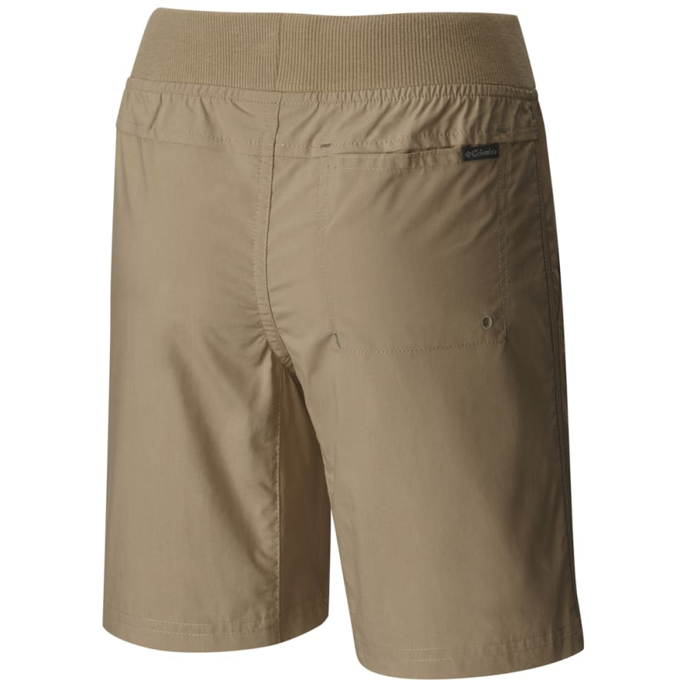 COLUMBIA Boys' 5 Oaks II Pull-On Shorts - BRITISH TAN-265