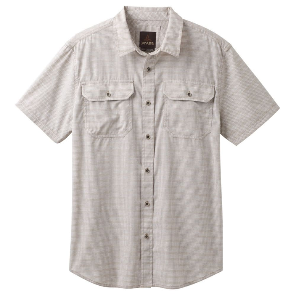 PRANA Men's Cayman Shirt - DARK KHAKI