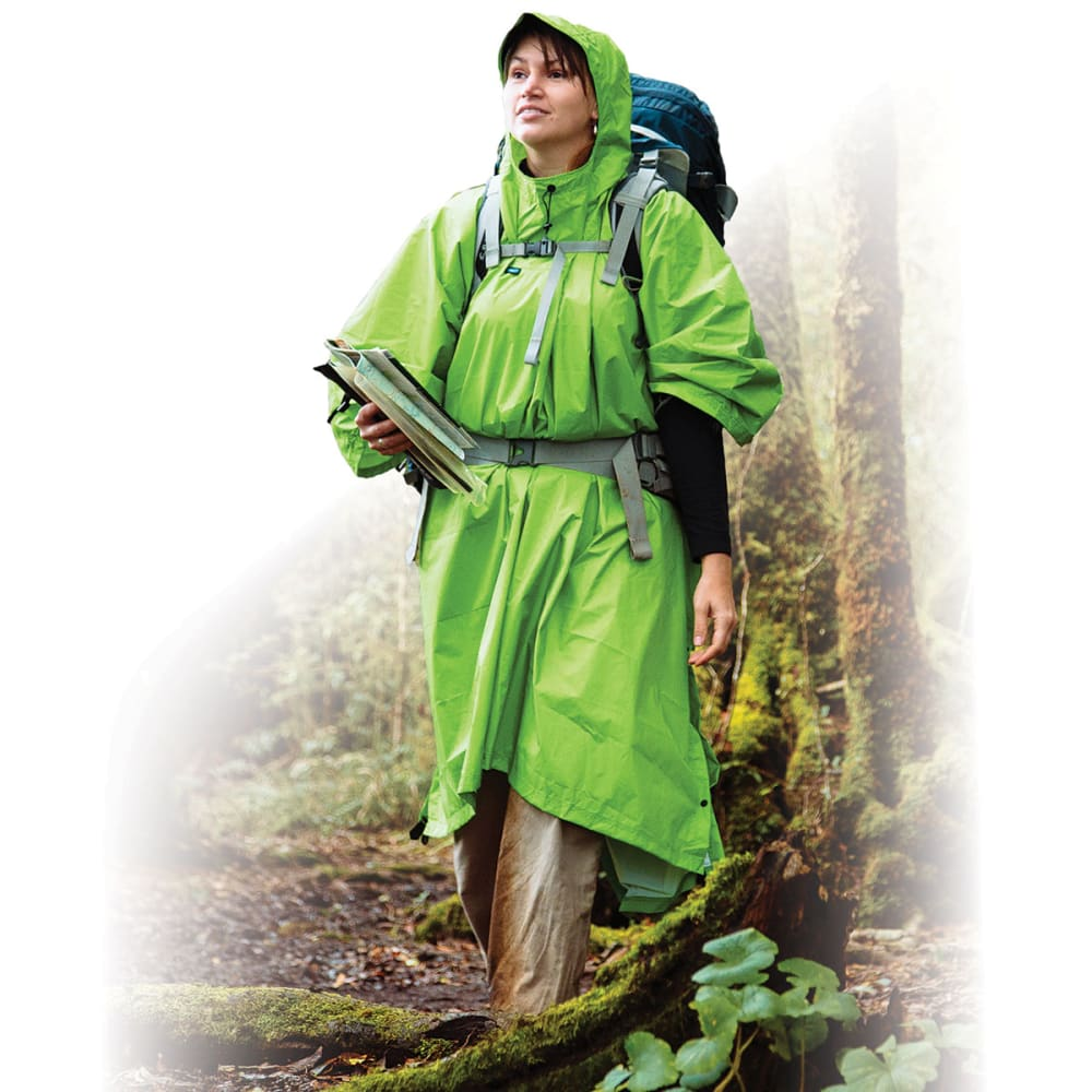 SEA TO SUMMIT Nylon Tarp Poncho - APPLE GREEN