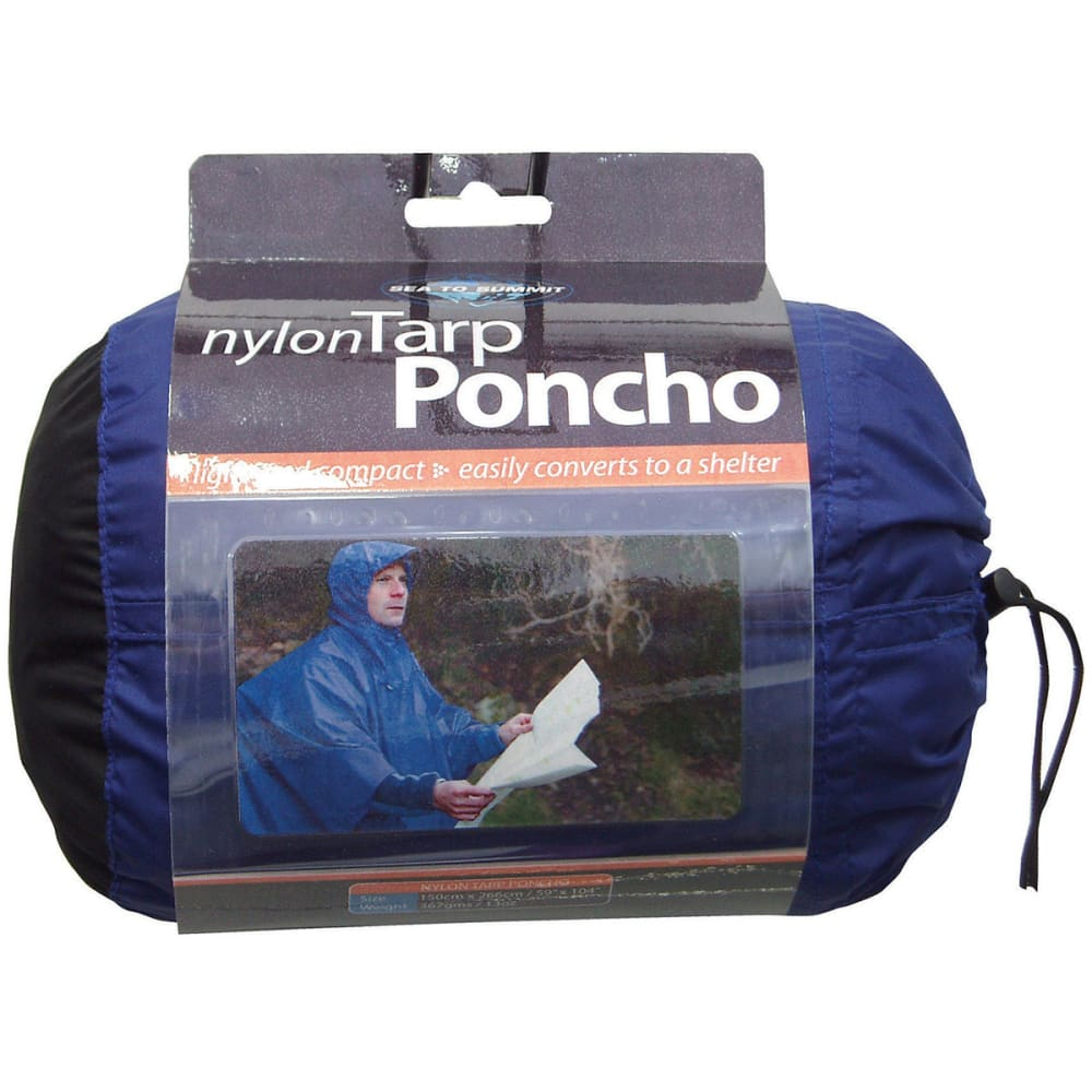 SEA TO SUMMIT Nylon Tarp Poncho - BLUE