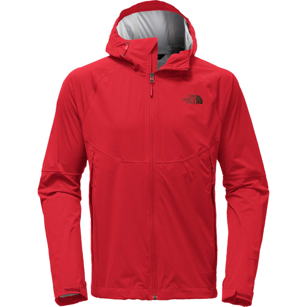 THE NORTH FACE Men's Allproof Stretch Jacket - P3D-RAGE RED