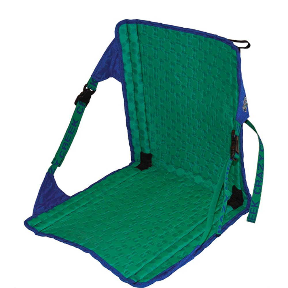 Crazy Creek Unisex Hex 2.0 Original Chair, Moss/ash - Blue